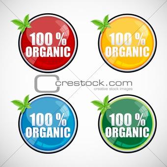 100% organic buttons