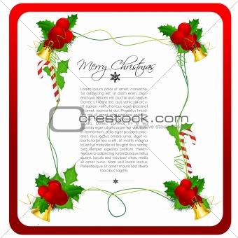 classical christmas card