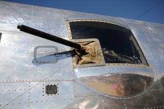 Old bomber gun