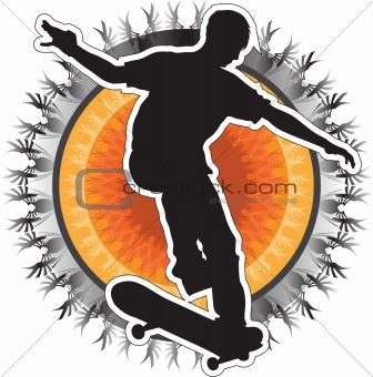 Skateboarder Design