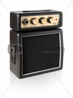Guitar amplifier.