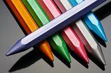 Pearl wax crayons.