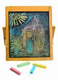 crayon chalk