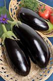 Eggplants.