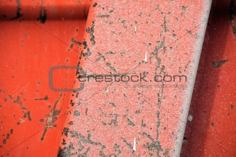 industrial machinery surface