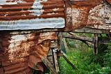 rusty shack