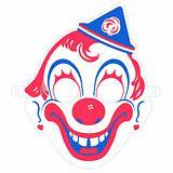 Clown Mask Cutout