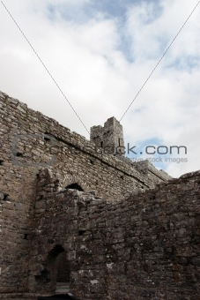 old historic ruins