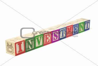 Alphabet Blocks - Investment