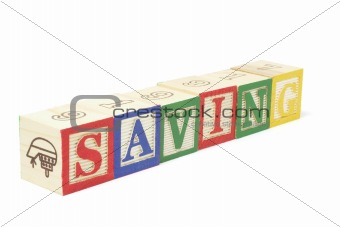 Alphabet Blocks - Saving
