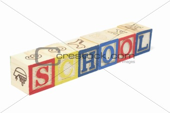 Alphabet Blocks - School