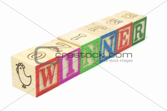 Alphabet Blocks -  Winner