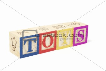 Alphabet Blocks - Toys