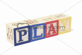 Alphabet Blocks -  Play
