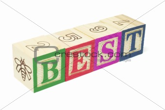 Alphabet Blocks - Best