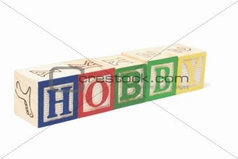 Alphabet Blocks - Hobby