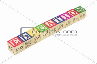 Alphabet Blocks - Education