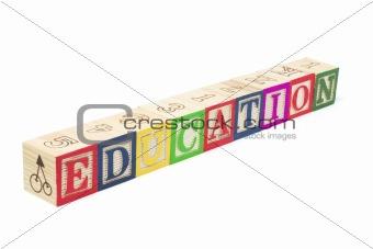 Alphabet Blocks - Education
