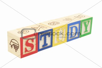Alphabet Blocks - Study