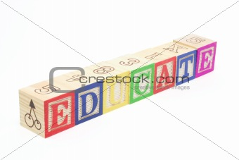 Alphabet Blocks - Educate
