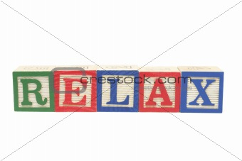 Alphabet Blocks - Relax