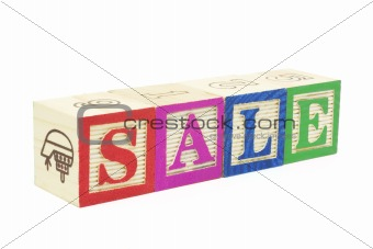 Alphabet Blocks - Sale