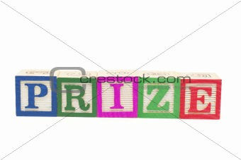 Alphabet Blocks - Prize