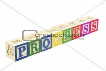 Alphabet Blocks - Progress