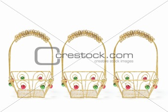 A Row of Baskets