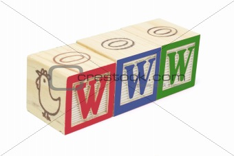 Alphabet Blocks - WWW