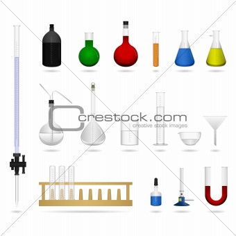 Chemical Science Equipment Vector