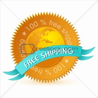 free shipping tag