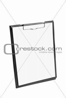 Clipboard with Papers