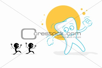 afraid teeth