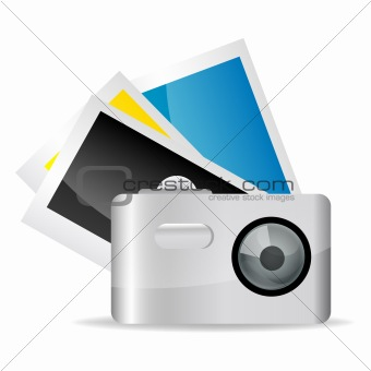 camera with pictures