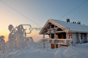 a house in Lapland