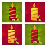 christmas candles backgrounds