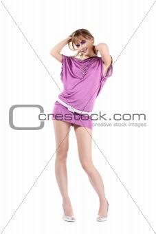 Beautiful Sexy Slim Woman