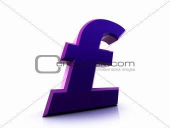 Pound sterling sign