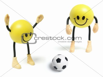 Smiley Toys and Football