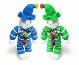 Woollen Toy Clowns