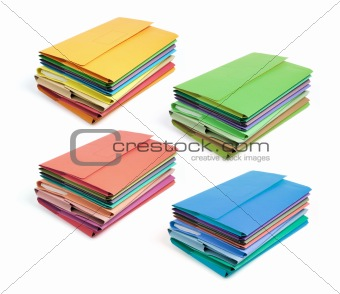 Stacks of Document Folders