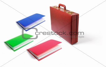 Briefcase and Files