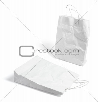 Crumpled Shopping Bags