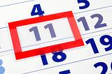 11 calendar day