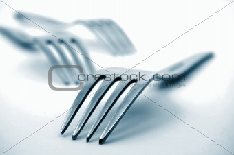 fork in the kitchen
