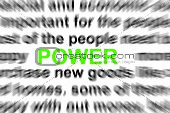 power concept