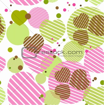 Abstract heart. vector illustration
