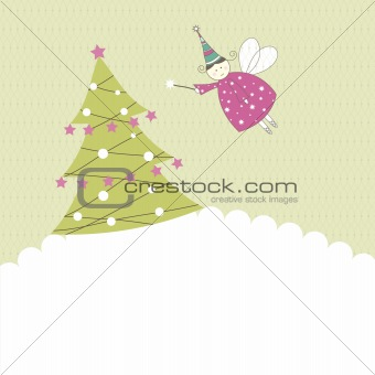 Greeting card for your life events Vector illustration