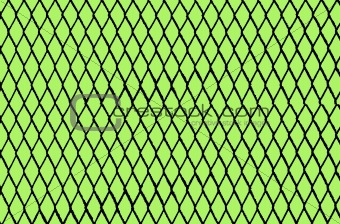Green Background with Chain Link Pattern